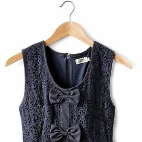 Robe macramé. molly bracken