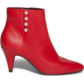 Boots rouge à talon conique rouge eram