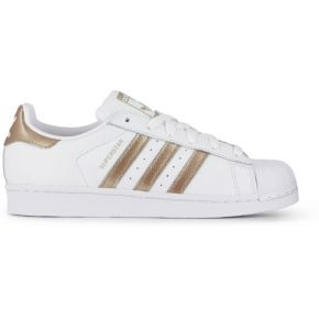 Superstar blanc/or adidas originals...