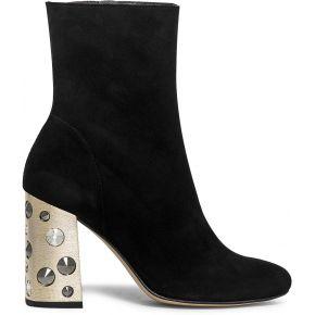 Boots noir à talon bijou noir eram
