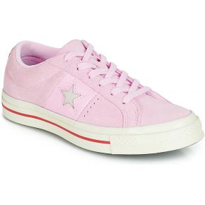 Baskets basses one star rose converse