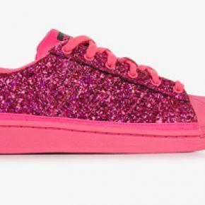 Superstar glitter adidas originals rose 38 femme