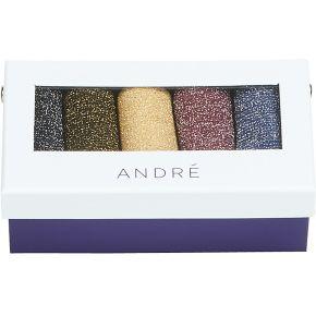 Chaussettes paillette multicolor andré