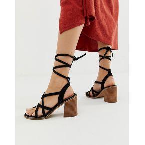 Femme asos design - trivia - sandales à talons...