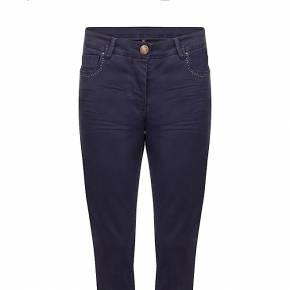 Naf naf pantalon slim bleu marine