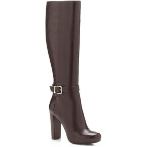 Botte devaina en cuir. guess marron