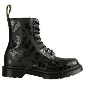 Chaussures femme hautes cassidy dr. martens noir
