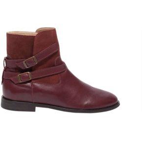 Boots colette. m. moustache bordeaux