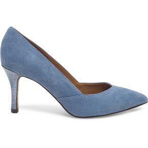 Escarpins scintillants bleus