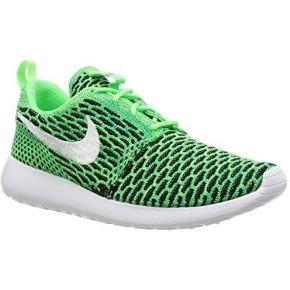 Nike women's roshe one flyknit shoe, baskets...
