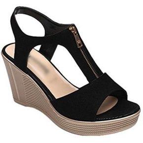Anguang chaussure femme sandale compensées...
