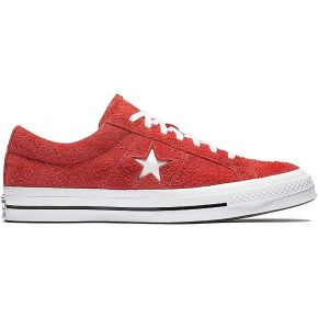 Baskets one star og mixte rouge converse