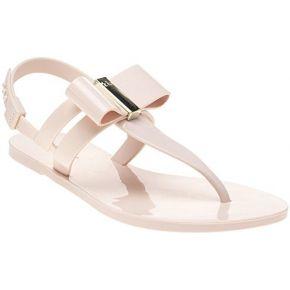 Zaxy glaze bow femme sandales nude
