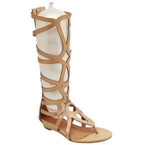 Niseng femme sandals tige haute zip eté style...