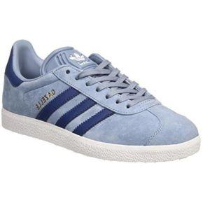 Adidas gazelle, baskets basses femme, bleu...