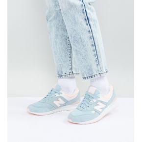 Femme new balance - 697 - baskets - bleu et...