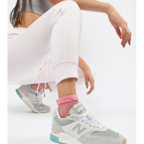 Femme new balance - 840 - baskets à lacets avec...