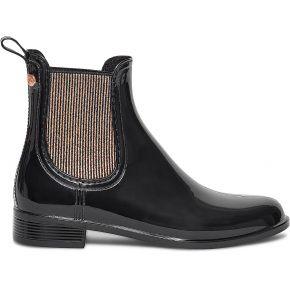 Chelsea boots de pluie igor noir et cuivré noir...