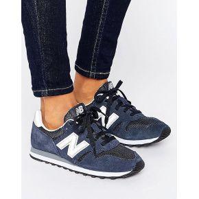 Femme new balance - 373 - baskets - bleu marine...