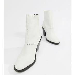 Femme asos design - elexis - bottines en cuir...
