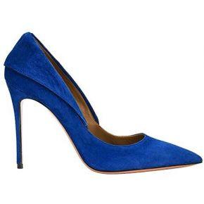 Guoar , coupe fermées femme - - blau samt,...