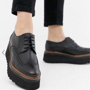 Femme depp - chaussures richelieu en cuir...