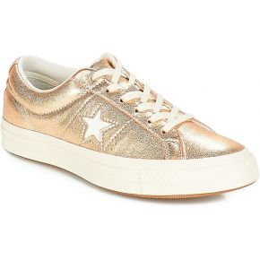 Baskets basses one star doré converse