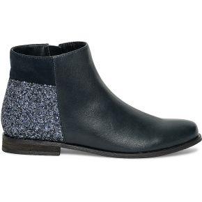 Boots paillettes bleu marine eram