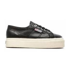 Superga slip on sneaker en noir