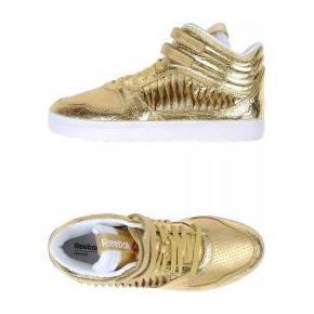 Sneakers & tennis montantes reebok femme. or....