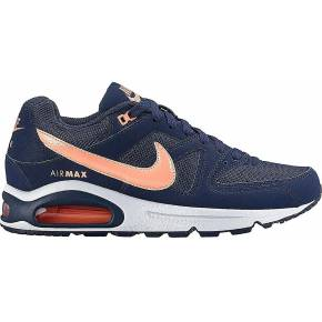 Nike wmns air max command. nike noir/orange
