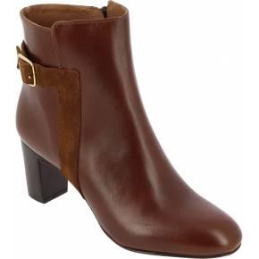 Boots devika - bottines - femme - marron -...