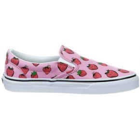 Baskets vans classic slip on rose femme pour femme
