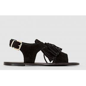 Sandales. mademoiselle r noir