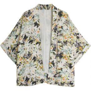 Veste kimono imprimé tropical galeries...
