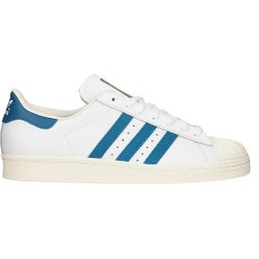 Sneakers cuir blanc superstar - adidas originals