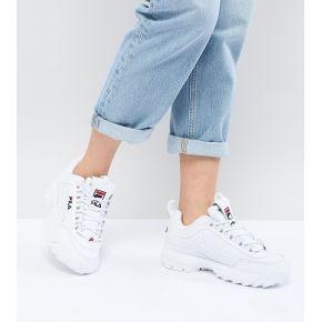 Femme fila - disruptor - baskets - blanc - blanc