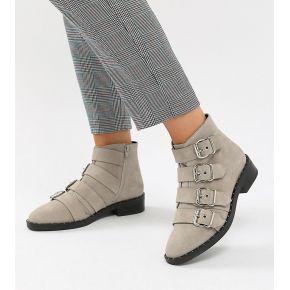 Femme asos design - avid - bottines en daim...