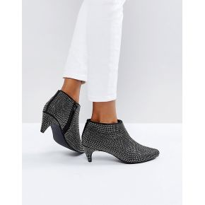 Femme new look - bottines en strass avec talons...