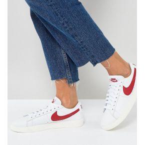 Femme nike - blazer - baskets - blanc et rouge...