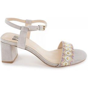 Sandales-bibi lou - couleur - gris, taille - 37