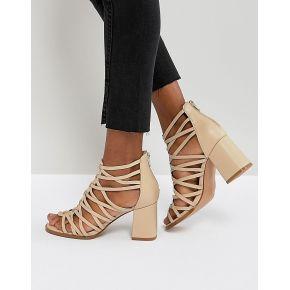 Femme asos - thistle - sandales à talons carrés...