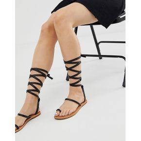 Femme raid - kruise - sandales plates avec...