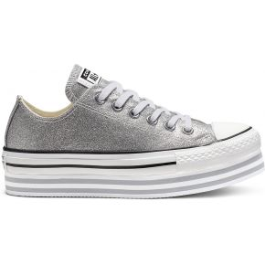 Chuck taylor all star shiny metal lift low top