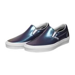 Vans classic slip-on bleu