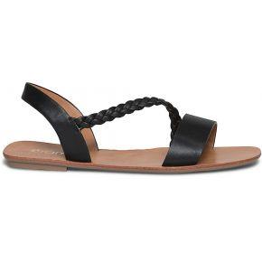Sandale noire à bride tressée noir eram