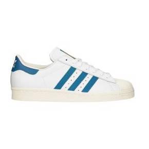 Baskets cuir blanc superstar - adidas originals