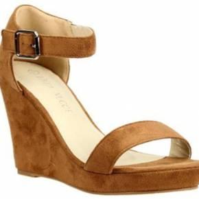 Sandales bloc compensé enza nucci jd1440 camel
