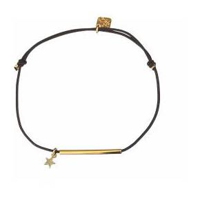 Bracelet étoile cordon - les curiosités d'elixir