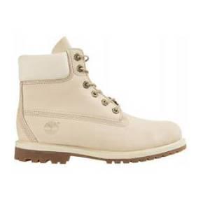 Chaussures femme in prenium boot timberland blanc